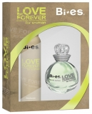 BI-ES sada Love Forever Green parfémovaná voda 100 ml+deospray 150 ml