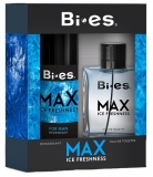 BI-ES sada Men Max Ice Fresh toaletní voda 100 ml+deospray 150 ml