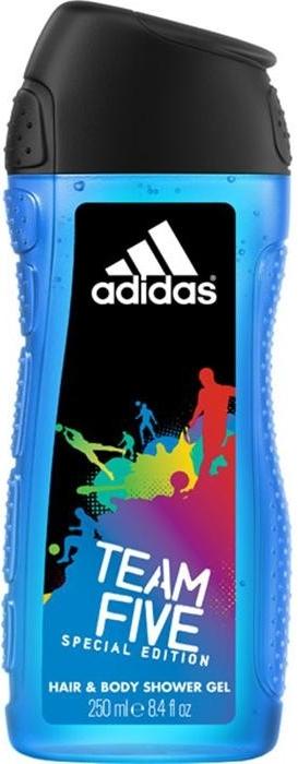 Adidas sprchový gel 2v1 Team Five 250 ml