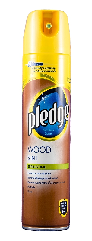 PLEDGE leštěnka 5v1 Wood Springtime 250 ml