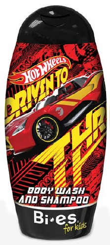 BI-ES sprchový gel 2v1 Hot Wheels Carbonic 250 ml