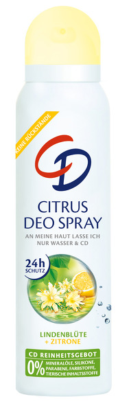 CD deospray Citrus 150 ml