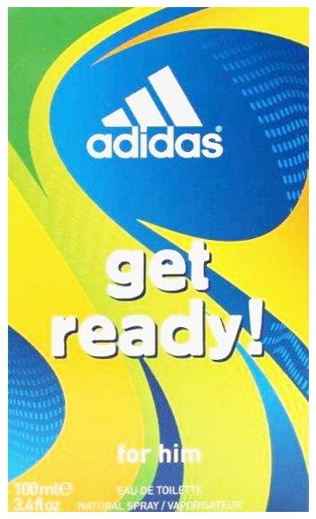 Adidas toaletní voda Get Ready! 100 ml