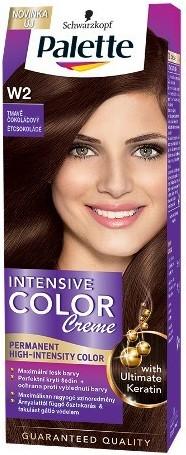 čokoládová barva na vlasy