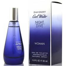 Davidoff Cool Water Nightdive Woman toaletní voda 80ml