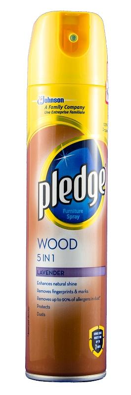 PLEDGE leštěnka 5v1 Wood Levander 250 ml