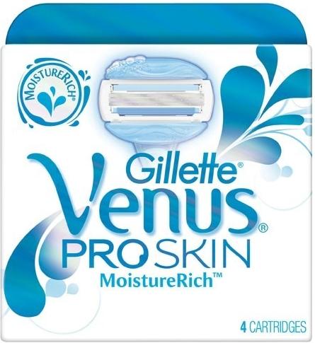 Gillette Venus ProSkin náhradní hlavice 4 ks