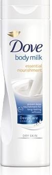 Dove tělové mléko Essential Nourishment Suchá pokožka 400 ml