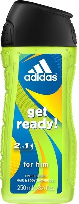 Adidas sprchový gel 2v1 Get Ready! 250 ml