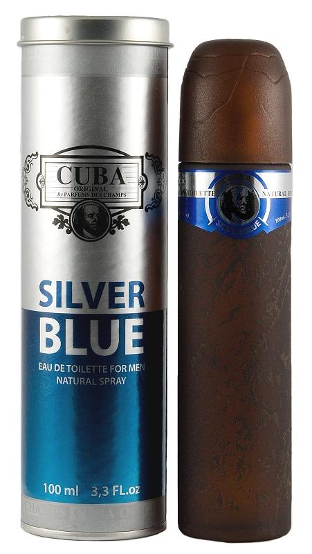 Cuba Original Silver Blue Men toaletní voda 100 ml