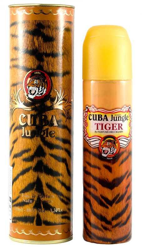 Cuba Original Jungle Tiger Woman parfémovaná voda 100 ml