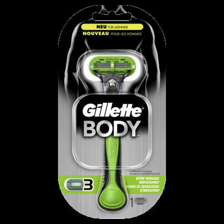 Gillette Body strojek + 1 břit pánský
