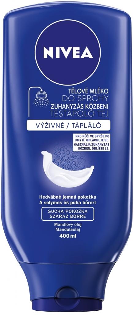 Nivea sprchové mléko vyživující Milk 400 ml