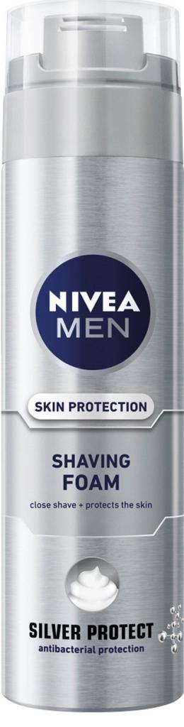 Nivea pěna na holení Men Silver Protect 200 ml