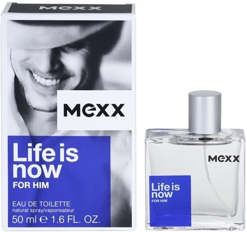 Mexx Life Is Now Men toaletní voda 75 ml