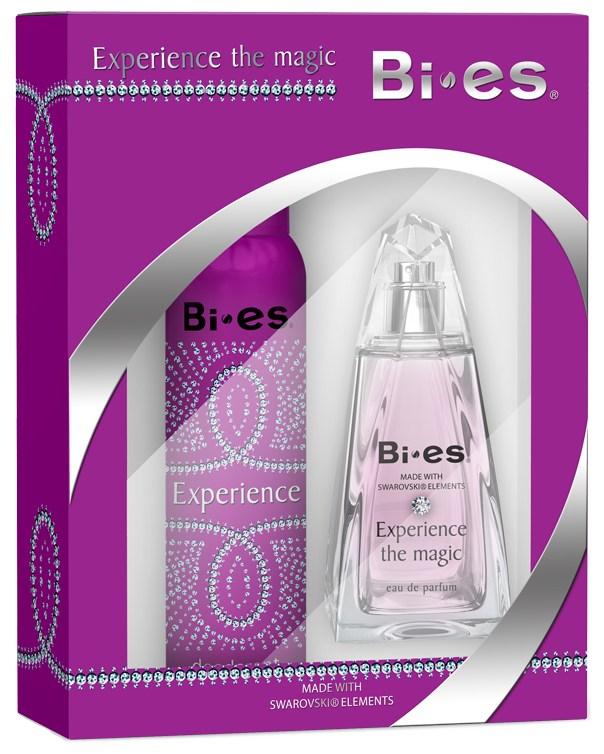BI-ES sada Experience The Magic parfémovaná voda 100 ml+deospray 150 ml