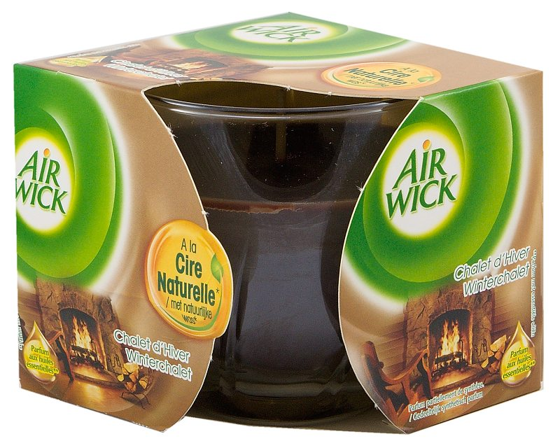 Airwick svíčka Horská chalupa 115 g
