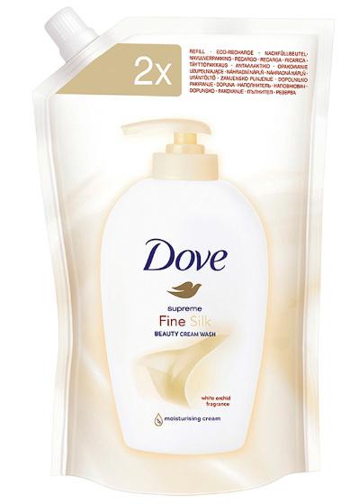 Dove tekuté mýdlo náhrada Fine Silk 500 ml