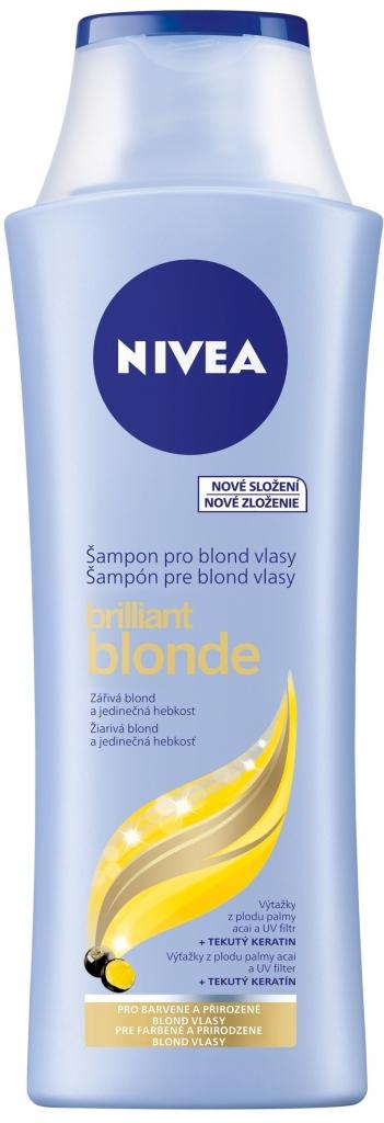 Nivea šampon Brilland Blonde 250 ml