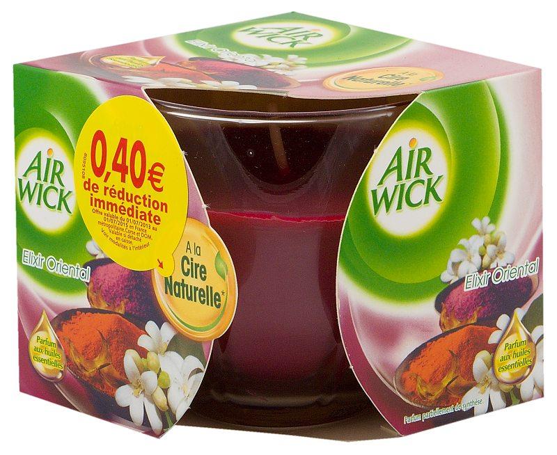 Airwick svíčka Elixír Oriental 115 g