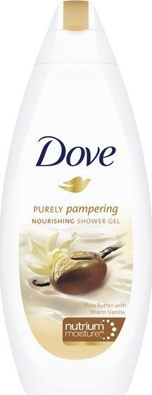 Dove sprchový gel Purely Pampering Bambucké máslo 250ml