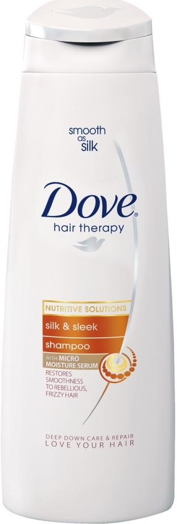 Dove šampón na vlasy Silk & Shine 250 ml