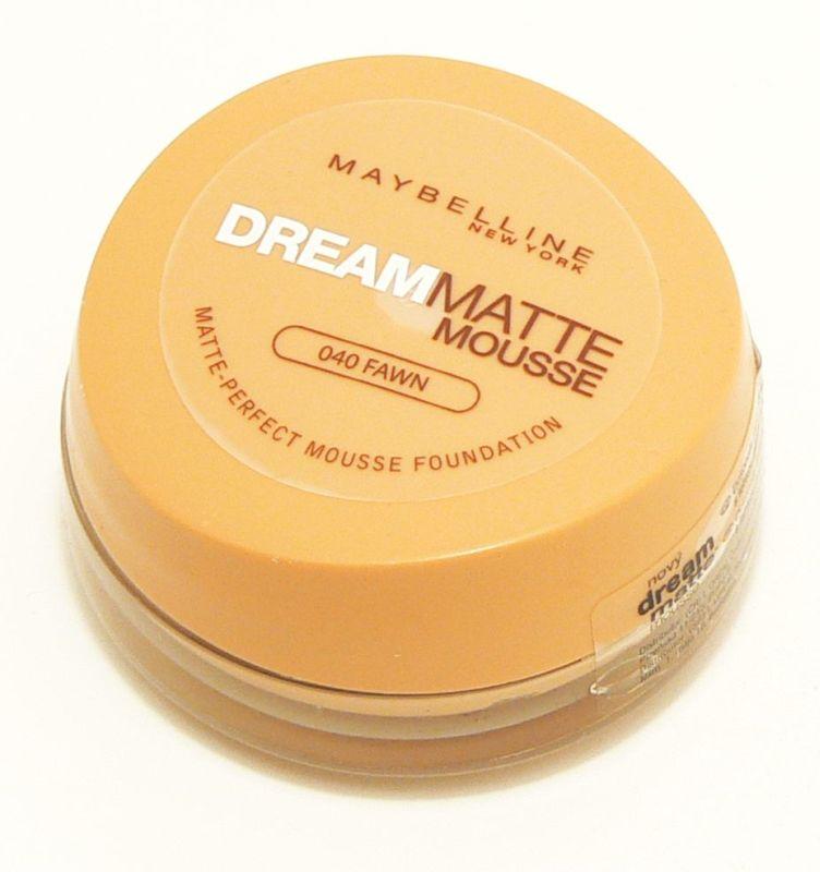 Maybelline make-up Dream Matte Mousse Foundation 40 18 ml