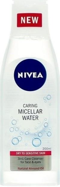 Nivea pleťová voda Micelární citlivá pleť 200 ml