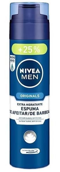 Nivea pěna na holení Men Originál 200+50 ml