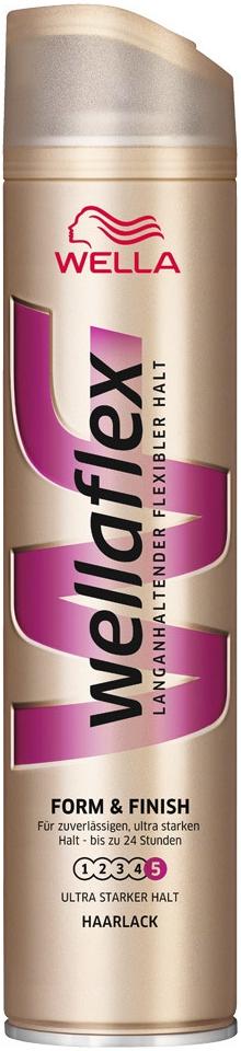 Wellaflex lak na vlasy Form & Finish (5) 250 ml