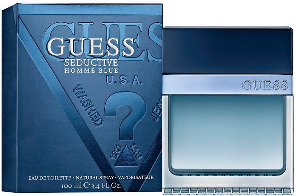 Guess Seductive Blue Men toaletní voda 100 ml