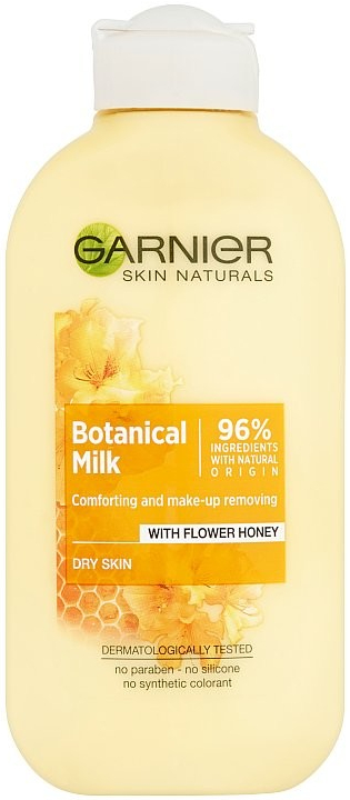 Garnier Skin Naturals Botanical Milk Honey mléko 200 ml