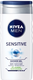 Nivea sprchový gel Men Sensitive 250 ml