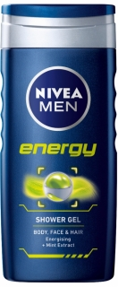 Nivea sprchový gel Men Energy 250 ml