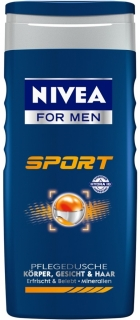 Nivea sprchový gel Men Sport 250 ml