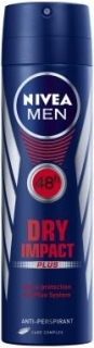 Nivea deospray Men Dry Impact Plus 150 ml