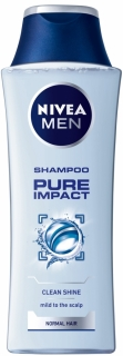 Nivea šampon Men Pure Clean 250 ml