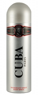 Cuba deospray Black 200 ml