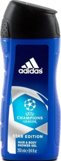 Adidas sprchový gel 2v1 Champions League 250 ml