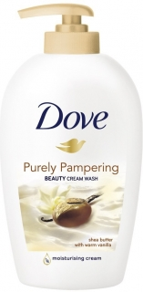 Dove tekuté mýdlo Purely Pampering Beauty 250 ml