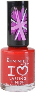 Rimmel lak na nehty 030 I Love Lasting Finish 8ml