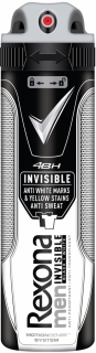 Rexona deospray Men Invisible Black & White 150 ml