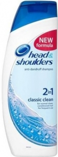 Head&Shoulders šampón Classic Clean 2v1 400 ml