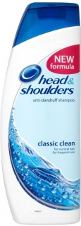 Head&Shoulders šampón Classic Clean 400 ml