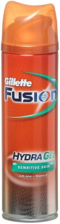 Gillette Fusion gel Hydra Sensitive skin 200 ml