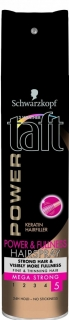 Taft lak na vlasy Power & Fulness Keratin Mega Strong 5 250 ml