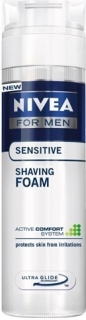 Nivea pěna na holení Men Sensitive 200+50 ml