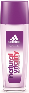 Adidas deospray ve skle Woman Natural Vitality 75 ml