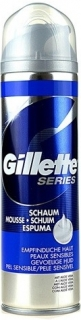 Gillette pěna na holení Series Sensitive 250ml