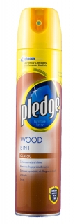 PLEDGE leštěnka 5v1 Wood Classic 250 ml